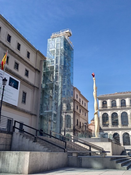 Day view of the Reina Sofía Museum