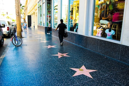 Hollywood Walk of Fame in LA
