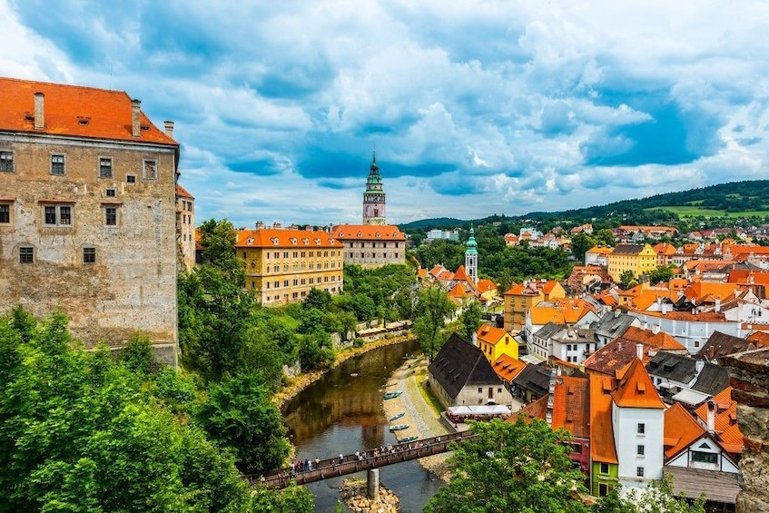Show item 5 of 5. Cesky Krumlov with lunch. Included pick up and drop off