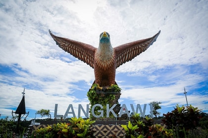 Langkawi Cable Car Eagle Carving