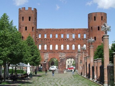 Palatine Towers in Turin, Italy