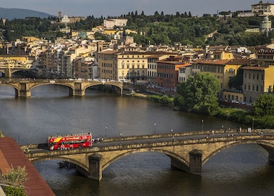 Landscape view of the City Sightseeing Firenze hop-on hop-off Public Transport