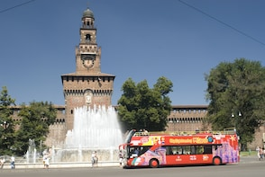 Hop-on, hop-off-tour van City Sightseeing Milano
