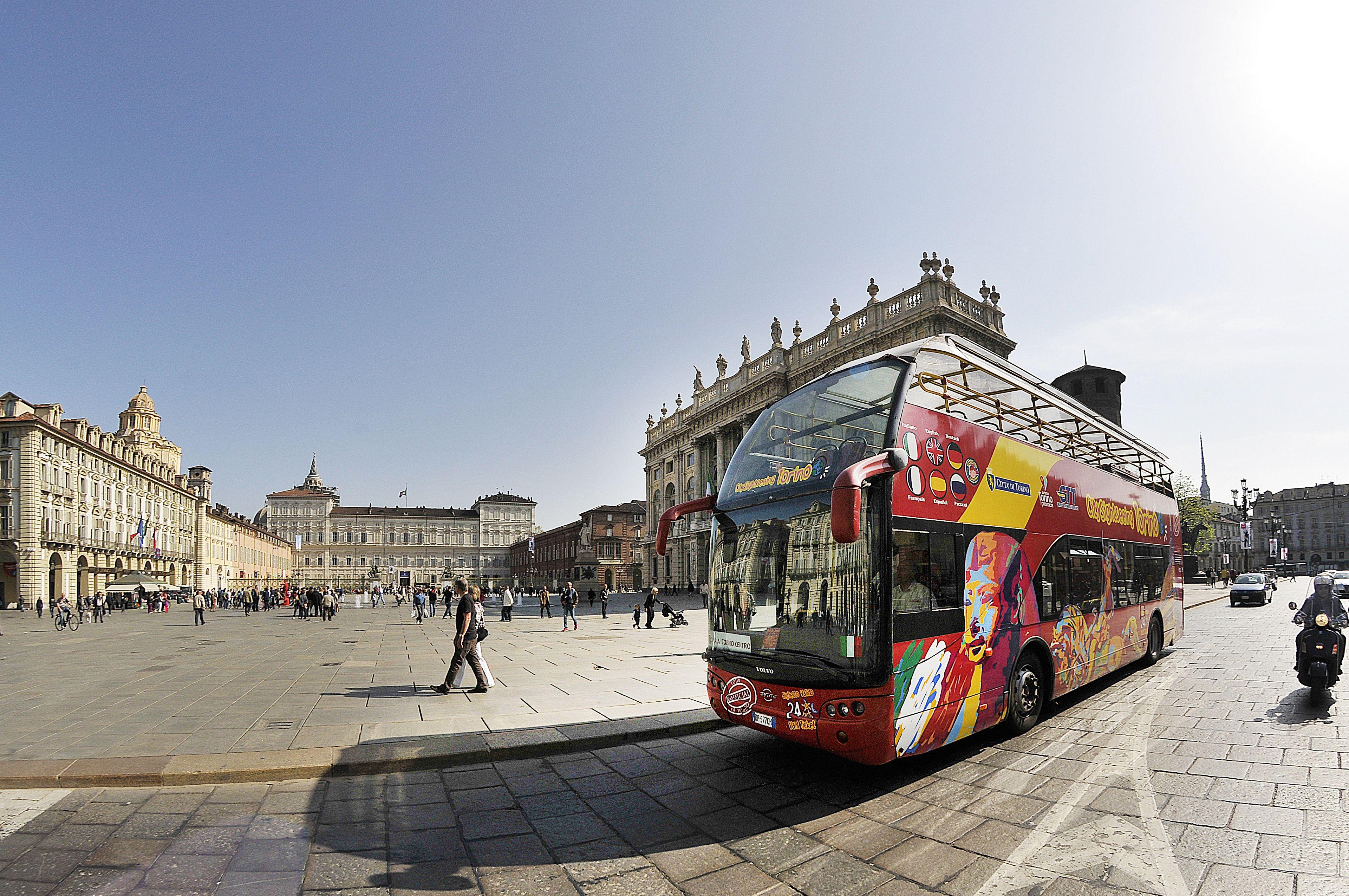 City Sightseeing Torino in autobus hop-on hop-off