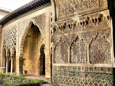 Outside view of the Alcázar of Seville