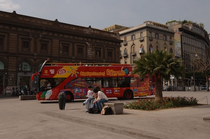 City Sightseeing Bus in Palermo