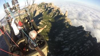 Montserrat Hot-Air Balloon Experience & Monastery Visit