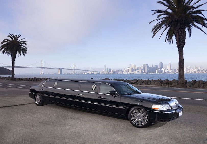 Stretch limo in San Francisco