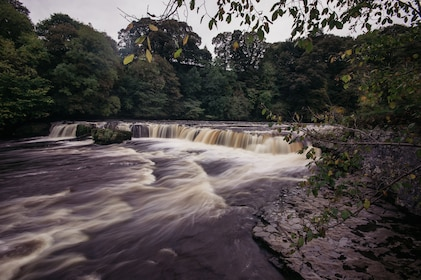 River at Yorkshire Dales National Park in England