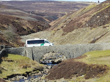 Tour van at Yorkshire Dales National Park in England