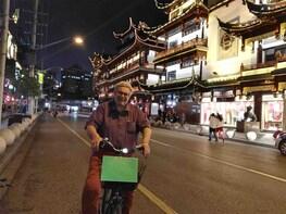 Shanghai Night Life Adventure Bike Tour