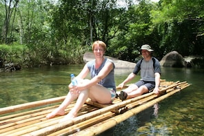 Khao Sok: Full-Day Bamboo Rafting