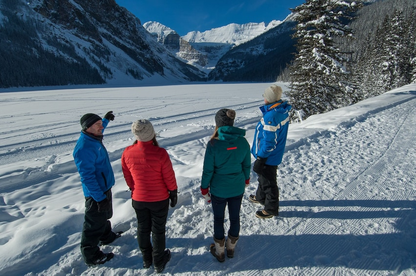 Show item 3 of 9. Half-Day Discover Lake Louise & Snowshoeing