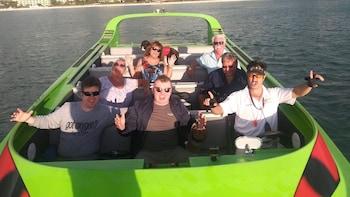 The Scream Machine - Sunset Cruise (Crab Island Pass)