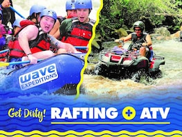 Full-Day Combo: ATV & Rafting