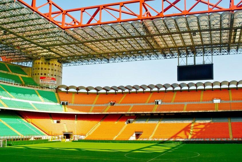 Show item 4 of 8. Milan: 1-Hour San Siro Stadium Entrance Ticket