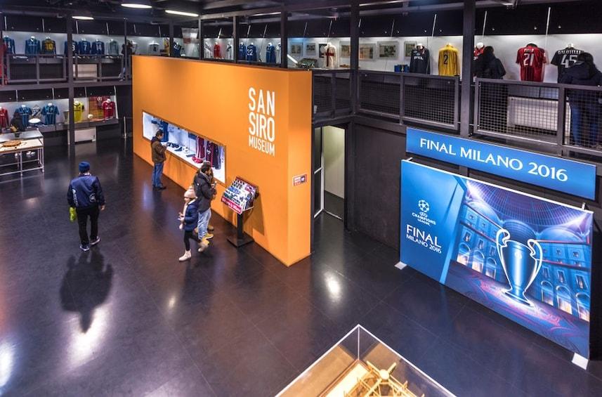 Show item 3 of 8. Milan: 1-Hour San Siro Stadium Entrance Ticket