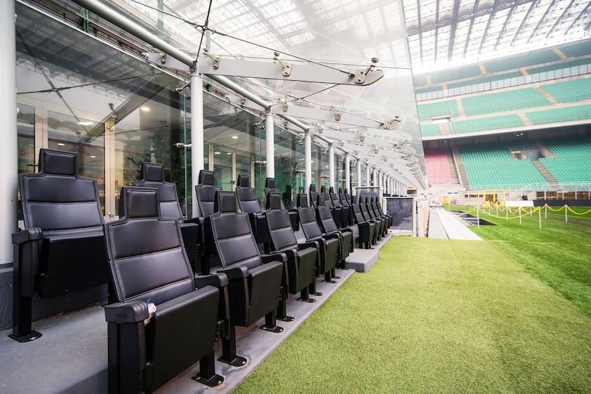Show item 1 of 8. Milan: 1-Hour San Siro Stadium Entrance Ticket