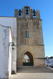 Faro Cathedral in Faro, Portugal