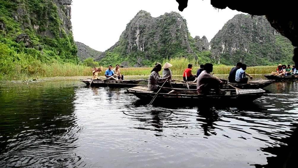 Show item 2 of 10. Visit Hoa Lu & Tam Coc in Ninh Binh full day tour from Hanoi