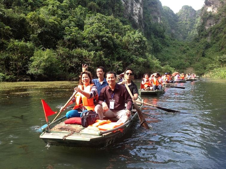 Show item 10 of 10. Visit Hoa Lu & Tam Coc in Ninh Binh full day tour from Hanoi
