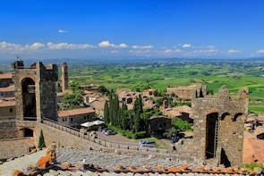 Brunello Wines and Bagno Vignoni Day Tour from Florence