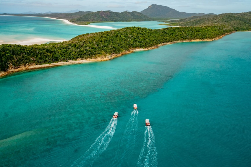 Show item 2 of 9. Full Day Whitsundays Catamaran Tour with Reef Snorkelling