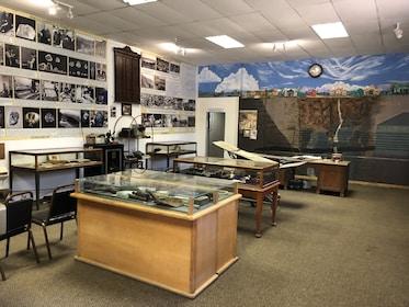 Diamond exhibit at diamond mine in South Africa