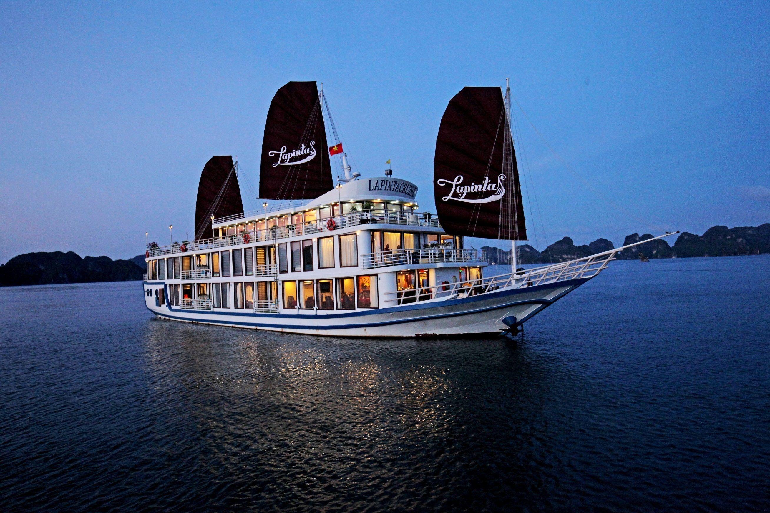 2 days - La Pinta Luxury Cruise, Halong Bay - Lan Ha Bay