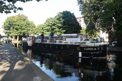 Canal Boat Restaurant in Dublin's Grand Canal