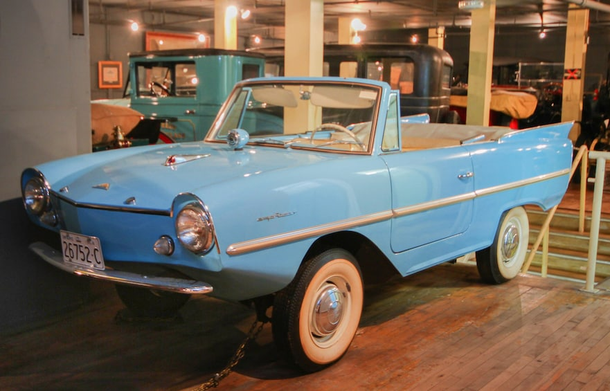 Vintage car at Canadian Automative Museum in Toronto