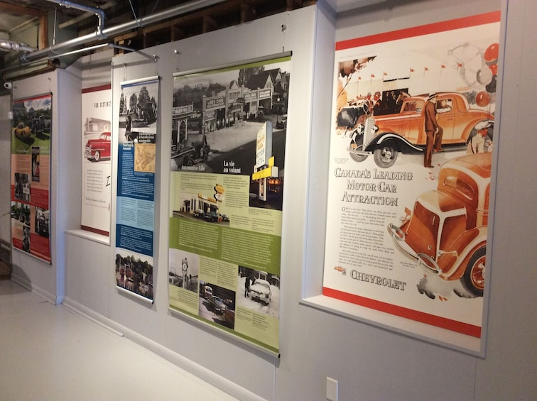 Show item 3 of 9. Display at Canadian Automative Museum in Toronto
