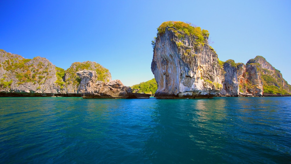 Foto 5 von 9 laden Koh Maiton & Koh Phi Phi by Speedboat with Dolphin Sighting