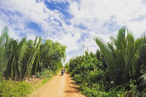 Vespa Tour: The glimpse of the Mekong - full day share tour