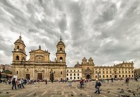 Passeio pela cidade de Bogotá