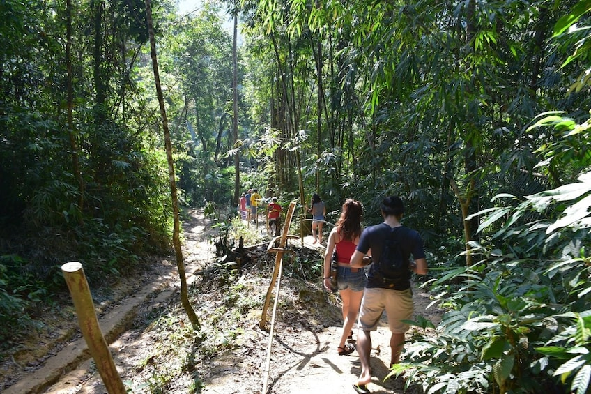 Show item 3 of 10. Hiking group in Thailand