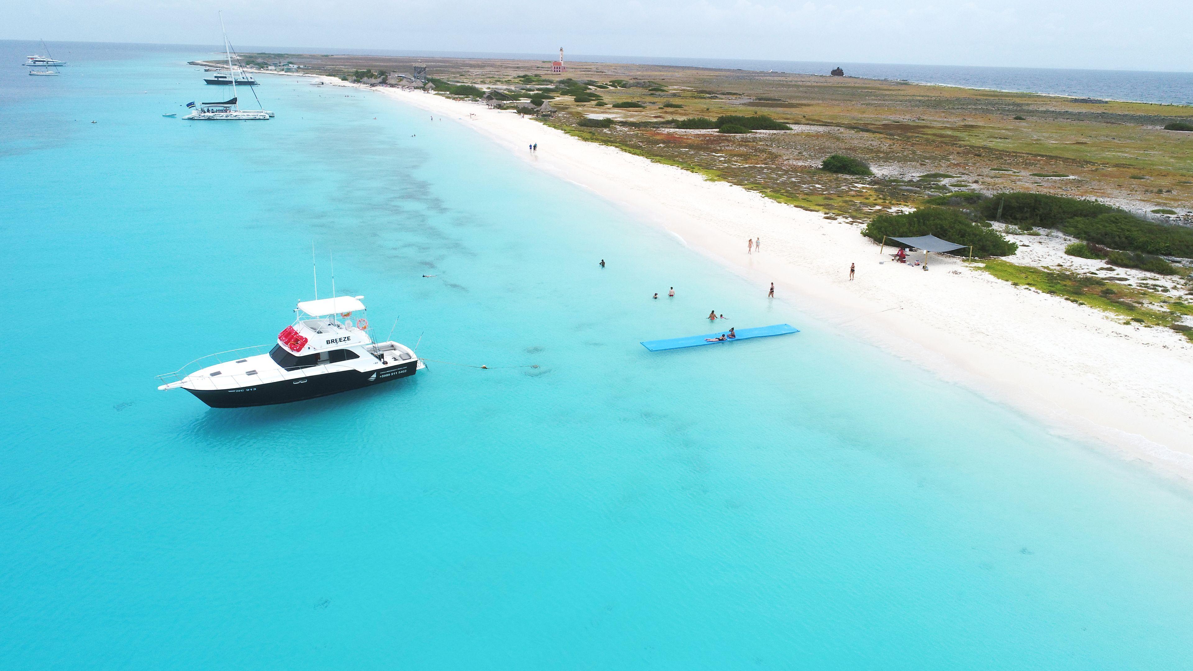 Breeze Adventures Klein Curacao Boat Trip