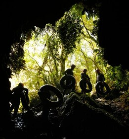 Blackwater Rafting and Caving ex Auckland or Rotorua