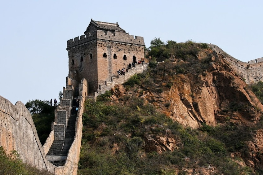 Show item 3 of 3. Day view of the Great Wall of China