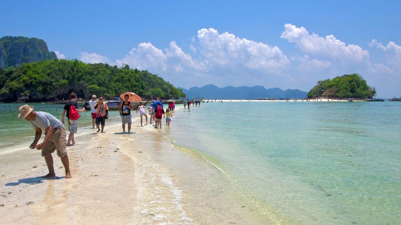 Day Tour from Phuket to 4 Islands around Krabi