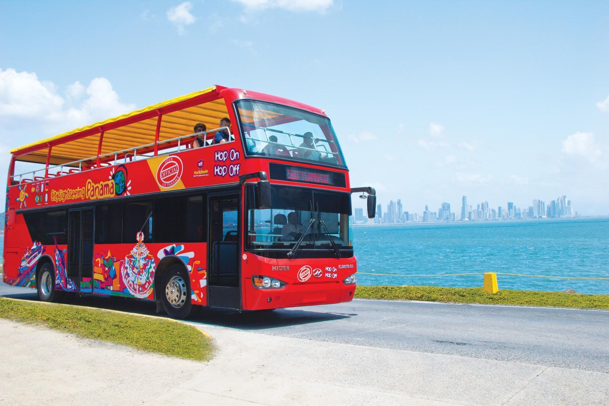 City Sightseeing Panama Hop-On Hop-Off Bus Tour