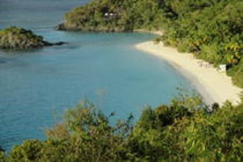 Show item 3 of 7. Beach on St John Island