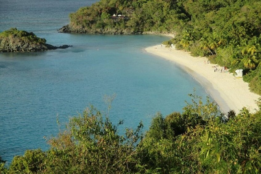 Show item 7 of 7. St John Island and Trunk Bay Beach Tour From St Thomas