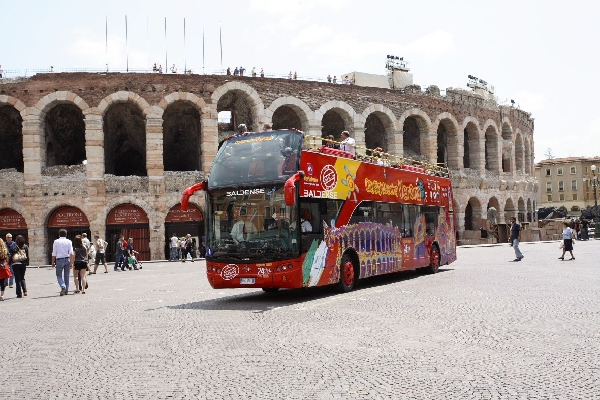 City Sightseeing Verona Hop-on/Hop-off