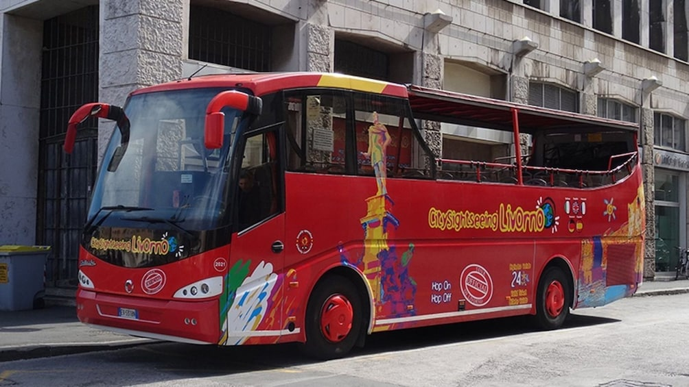 Apri foto 2 di 7. City Sightseeing Livorno Hop-on Hop-off