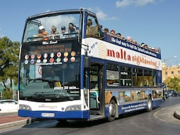 MaltaSightseeing - Circuit de bus à arrêts multiples à Malte