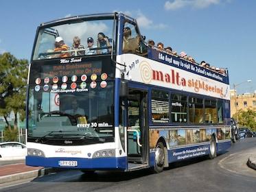 Maltasightseeing - Malta Hop on Hop off Bus Tour