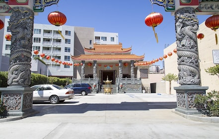 Chinese Pagoda building in LA