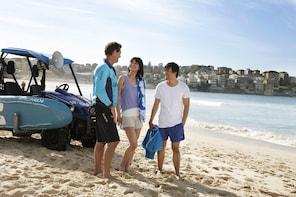 """Visita guiada a pie de playa y visita a pie por la costa """"Descubre Bon..."""