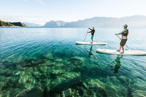 Half Day Guided Stand Up Paddle Boarding Tour on Lake Wanaka